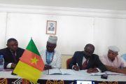 Signature de la convention de partenariats entre les associations TOCKEM, ELANS à paris et la Commune de Mbouda le 3 Janvier 2020.