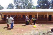 Dépannage du forage de l'école Publique de Bafemgha